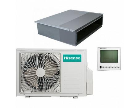 Канальный кондиционер Hisense AUD-24UX4SLL1 / AUW-24U4SF1